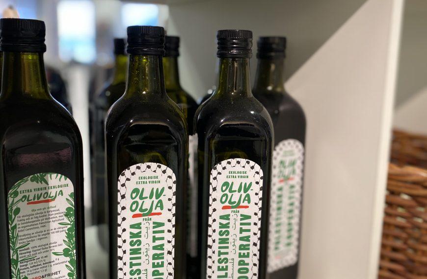 Olivolja från Palestina
